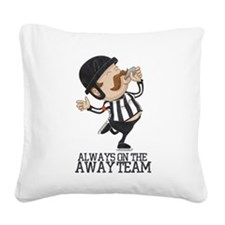 Referee Square Canvas Pillow