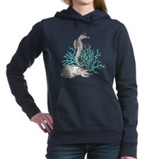 Aqua Under the Sea Women's Hooded Sweatshirt