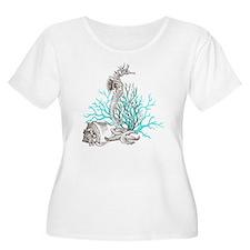 Aqua Under th T-Shirt