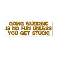 Cute Mudding Car Magnet 10 x 3