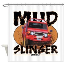 Mud Slinger Offroad Shower Curtain