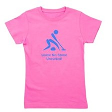 Uncurled Blue.png Girl's Tee