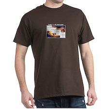 3-Note I Vi Ii V7 Chords T-Shirt T-Shirt
