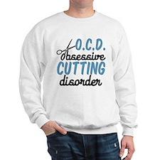 Funny Cutting Sweatshirt