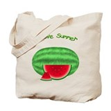 Watermelon Summer Tote Bag