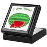 Watermelon Summer Keepsake Box
