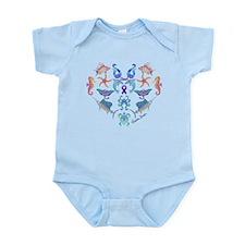Cheri's Ocean Treasures Infant Bodysuit