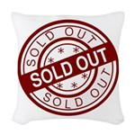 Sold Out Woven Throw Pillow