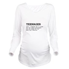 Teenager Definition Black.png Long Sleeve Maternit