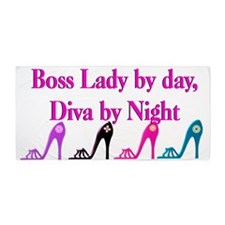 Cool Boss Lady Beach Towel
