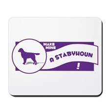 Make Mine Staby Mousepad