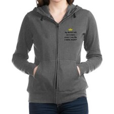 Dentist Crown Women's Zip Hoodie