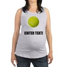 Tennis Personalize It! Maternity Tank Top