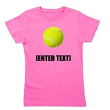 Tennis Personalize It! Girl's Tee