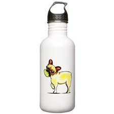 Sporty Frenchie Water Bottle