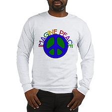 Imagine Peace Long Sleeve T-Shirt