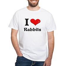 I love rabbits Shirt