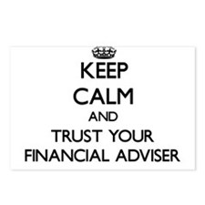 Keep Calm and Trust Your Financial Adviser Postcar