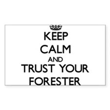 Keep Calm and Trust Your Forester Decal