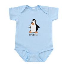 Personalized Penguin Design Body Suit