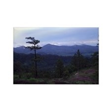 Honduran Landscape Rectangle Magnet