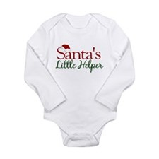 Santas Little Helper Body Suit