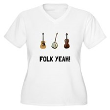 Folk Yeah Plus Size T-Shirt