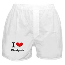 I love pinnipeds  Boxer Shorts
