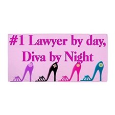 Dazzling Lawyer Beach Towel