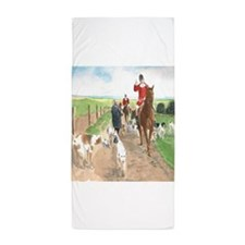 Foxhunt 3 Beach Towel