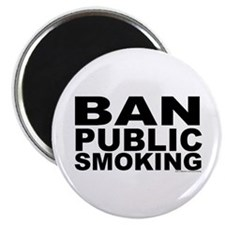 "2.25"" Magnet (10 pack): Ban Public Smoking"