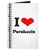 I love parakeets Journal