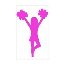 Cheer Gear Rectangle Decal