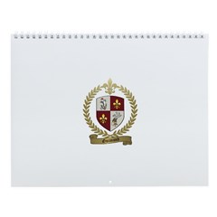 GUIMOND Family Crest Wall Calendar