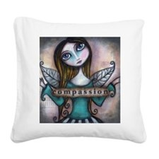 Compassion Square Canvas Pillow