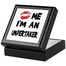 Kiss Me I'm An Undertaker Keepsake Box