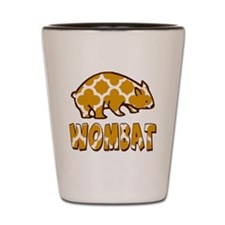 WOMBAT Tshirt or Gift Shot Glass