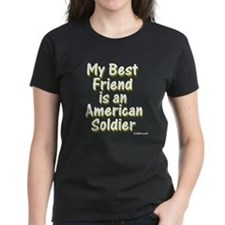 Best-Friend-Army-Olive-TRANSP T-Shirt