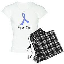 Personalized Periwinkle Rib Pajamas