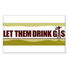 Unique Anti fracking Decal