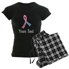 Personalized Pink and Blue R Pajamas