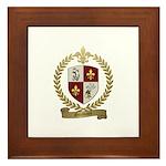 GUIMONT Family Crest Framed Tile