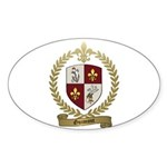 GUIMONT Family Crest Oval Sticker