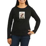GUIMONT Family Crest Women's Long Sleeve Dark T-Sh
