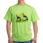Pied Guineas Green T-Shirt