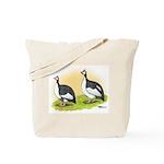 Pied Guineas Tote Bag