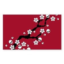 Gothic Cherry Blossoms Decal