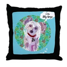 I'M LILY GAGA Throw Pillow