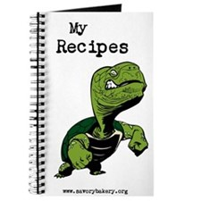 Tough Turtle Recipe Book Journal