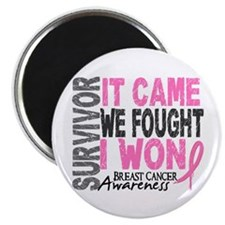 Breast Cancer Survivor 2 Magnet